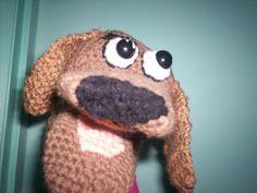 Crochet puppet Lulu