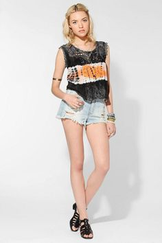 We All Shine By MINKPINK Magic Shroom Crochet Top    @Urban Outfitters