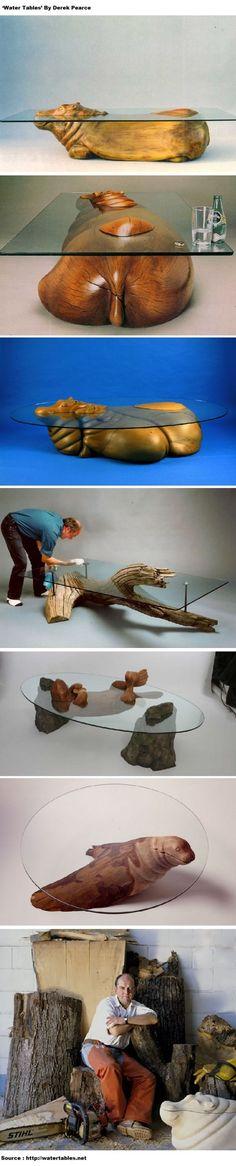 'Water Tables' By Derek Pearce