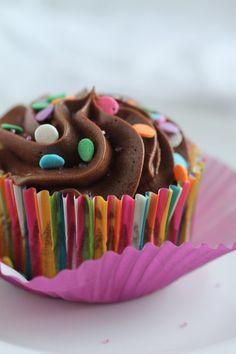 Chocolate Greek Yogurt Buttermilk Cupcakes