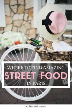 Where to Find Amazing Street Food in Paris Onde encontrar comida de rua incrível em Paris Brunch In Paris, Breakfast In Paris, Paris Food, Paris France Food, Paris Street Food, Paris Desserts, Oh Paris, Paris In May, Paris Travel Tips