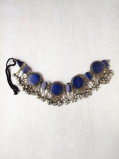 Silk Road Design Lapis Metal Belt  http://www.freepeople.com/whats-new/lapis-metal-belt/
