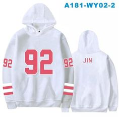 1f63a0cc1a1 BTS Kpop white Women Hoodies Sweatshirt Plus Size Popular Bangtan Hip Hop Hooded  Hoodies Women Winter Korean Female Fans Clothes