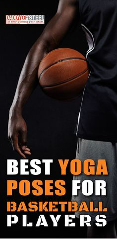 Yoga for Basketball: 7 best poses for players for better perfomance. Best yoga poses for basketbaal players to boost your performance and prevent you from injuries Yoga Poses For Men, Cool Yoga Poses, Yoga For Men, Fit Board Workouts, Fun Workouts, Basic Yoga For Beginners, Basketball Skills, Basketball Players, Basketball Practice