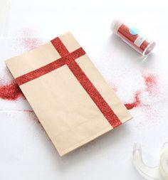 DIY glitter bag / Creature Comforts