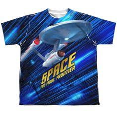 "Checkout our #LicensedGear products FREE SHIPPING + 10% OFF Coupon Code ""Official"" Star Trek/space Frontier-s/s Youth Poly T- Shirt - Star Trek/space Frontier-s/s Youth Poly T- Shirt - Price: $24.99. Buy now at https://officiallylicensedgear.com/star-trek-space-frontier-s-s-youth-poly-t-shirt-licensed"