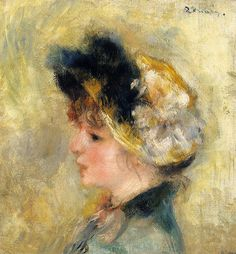 Renoir-Head of a Young Girl-1878