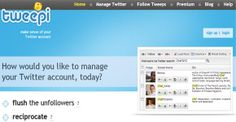 Tweepi is one of the best and most popular tools, which people use to manage and grow their Twitter accounts. It offers a set of several uti...