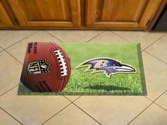 Ball Scraper Mat - Baltimore Ravens