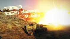 T110E3 10621 damage 7 kills