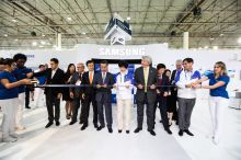 After a spectacular Opening Ceremony last night, the first day of Competition for WorldSkills São Paulo 2015 was marked with a ribbon cutting hosted by Global Premium Partner, Samsung. Opening Ceremony, Competition, History, World, Training, Historia, The World