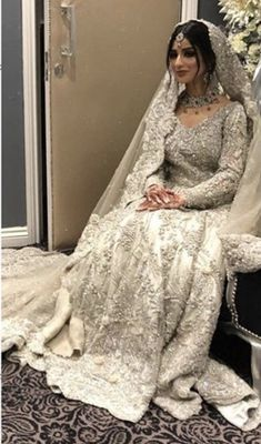 Asian Bridal Dresses, Pakistani Wedding Outfits, Pakistani Bridal Dresses, Pakistani Wedding Dresses, Bridal Outfits, Indian Outfits, Boho Dress, Lace Dress, Dress Casual