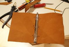 Mod Toggery: DIY Leather Planner