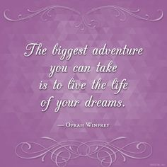 The biggest adventur