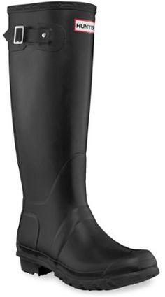 Finally added these beauties to my shoe collection! ❤️  Hunter Original Tall Wellington Rain Boots | Black | Women's  #REI #HunterBoots #HunterOriginal