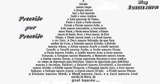 """BLOG É DESSE JEITO !: EVANGELHOS - """"A Genealogia de JESUS CRISTO"""" (Mateu..."""