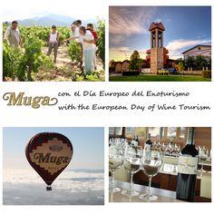 ¡Feliz Día Europeo del #Enoturismo! ¡Muchas gracias a los más de 24.000 visitantes que han venido a vernos este año, y a los miles de fans que, desde las redes sociales, nos seguís! Es un honor y un placer recibiros. ¡Os esperamos! #winetourism #enotourism #wine #riojawine #vino # rioja #muga #bodegasmuga #winelovers #winery #bodega