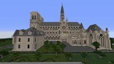 #minecraft #cathédrale #paris #notre #dame Minecraft Create, Cologne, Castle, Louvre, Building, Travel, Viajes, Buildings, Castles