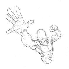 90 mins: Superhero Torso by Bambs79 on deviantART