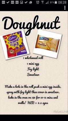 Just made these if your craving doughnuts and on slimming world here is your answer guys so worth it they are yummmm