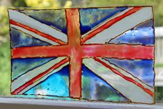 Stained Glass Union Jack - great ideas for the Jubilee and London Olympics Olympic Crafts, Olympic Games, Brownie Guides, Kids Olympics, Royal Tea Parties, British Values, Imagination Tree, Crafts For Kids, Arts And Crafts