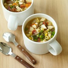 Supet easy chicken noodle soup. 3 WW points