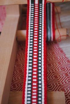 Christmas weaving is well underway!