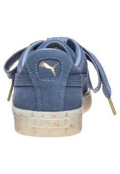 Puma Classic + Blau Damen Sneakers Billig Kaufen, Puma