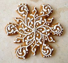gorgeous cookie - who has time for this? I wish I knew this person well.