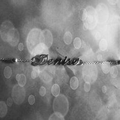 ♥ Collar de plata 950 baniado en oro de 18 #jewerly #namenecklace #alicia #mothersday #denise