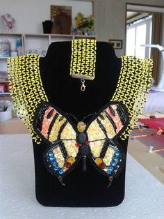 arjadne / náhrdelník motýľ