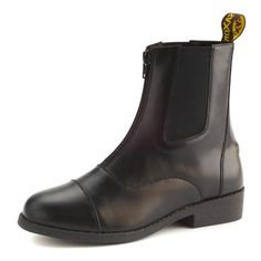 Saxon Equileather Zip Up Paddock Boots