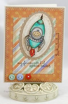 Little boy card - Waltzingmouse Stamps