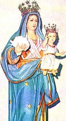 Our Lady of the Snow pray for us and Diocese of Reno, Nevada, Utah and Susa, Italy.  Feast day August 5.