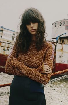 Make Me The Sea | Antonina Petkovic by Fanny Latour-Lambert #amazinghair