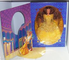 Walt Disney Belle Beauty Beast Signature Collection Barbie First in Series NRFB