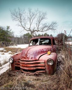 Country Chevrolet, Abandoned Truck in classic Americana scene, Signed Photography Print of an old Cevy Truck in the country Abandoned Rustic by garyhellerphotograph on Etsy https://www.etsy.com/listing/208431163/country-chevrolet-abandoned-truck-in