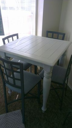 Re done DIY dinning pub table