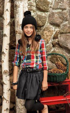 @ralphlauren Lauren Holiday 2014 campaign #christmas #ralphlauren #fallwinter2014 #FW14 #children #kids #childrenwear #kidswear #kidsfashiontrends #girls