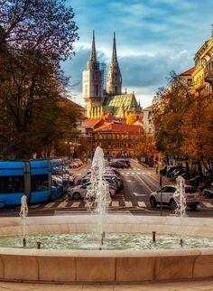 Zagreb - Croatia Zagreb Croatia, My Heritage, Statue Of Liberty, Mansions, House Styles, Travel, Croatia, Statue Of Liberty Facts, Viajes