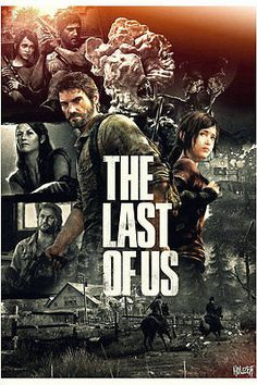 Large Game Canvas Silk Poster The Last Of Us 36X24inch Brand New Free Shipping