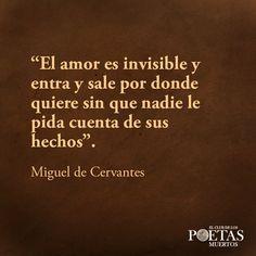 Cervantes....