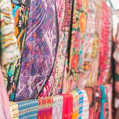 Use them as table runners or use them as wall decor these hand-made Guatemalan goods are perfect for your boho style home (and newly stocked!)