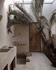 Modern Bathroom Decor, Modern Room, Bathroom Interior Design, Decor Interior Design, Design Interiors, Bathroom Colors, Small Bathroom, Warm Bathroom, Serene Bathroom