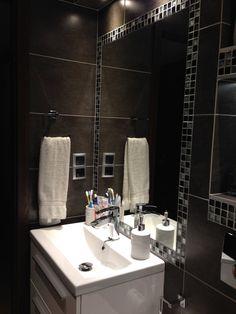 Zdjęcie nr 7 w galerii Moja grafitowa maleńka łazienka... – Deccoria.pl