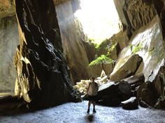 Cathedral Cave, Little Langdale - Sept 2012