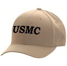 Embroidered Flexfit USMC Low Profile Cap 22d2c7686c2