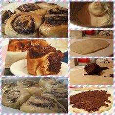 Chocolate and hazelnuts buns by hummingbird bakery home sweet home