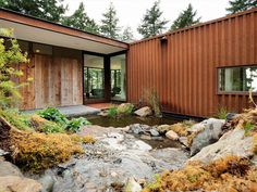 2013 AIA Housing Awards: One and Two Family Custom Residences- Eagle Ridge in Eastsound, Washington; designed by Gary Gladwish Architecture