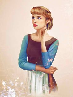 Cinderella. Envisioning Disney Characters In Real Life.